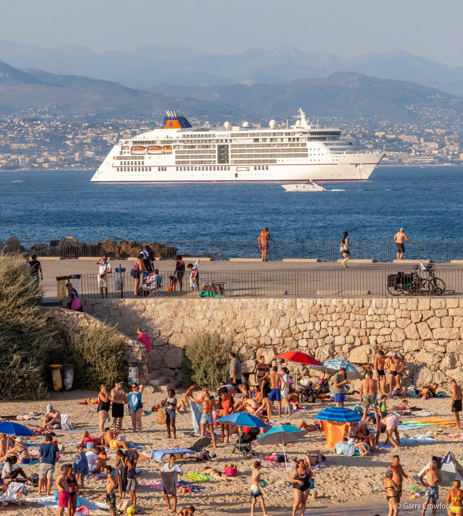 Cruise ship croisière Europa 2 Antibes