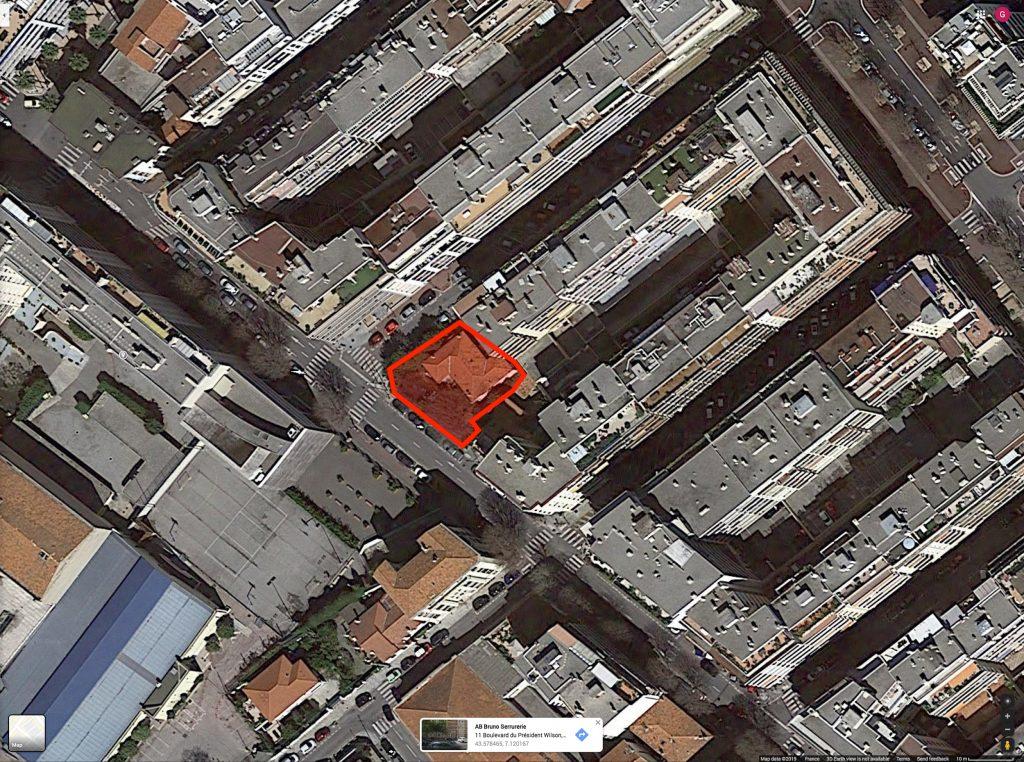 17 boulevard foch antibes satellite view
