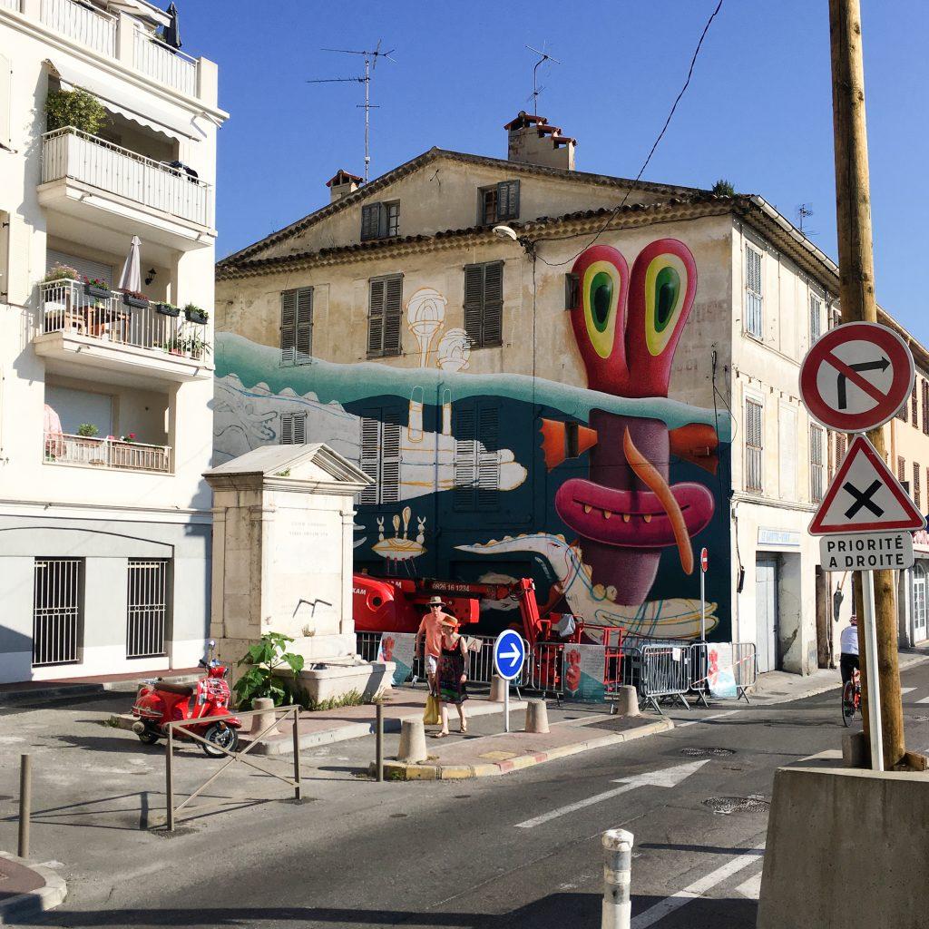 marnera fontaine mural