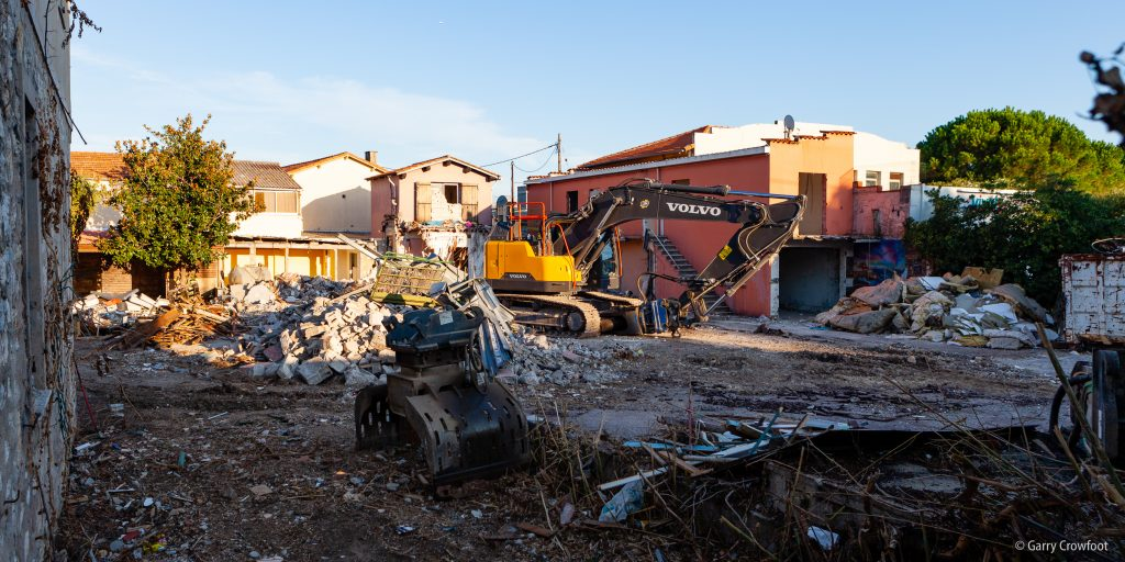 212 route de Nice Antibes démolition 2021