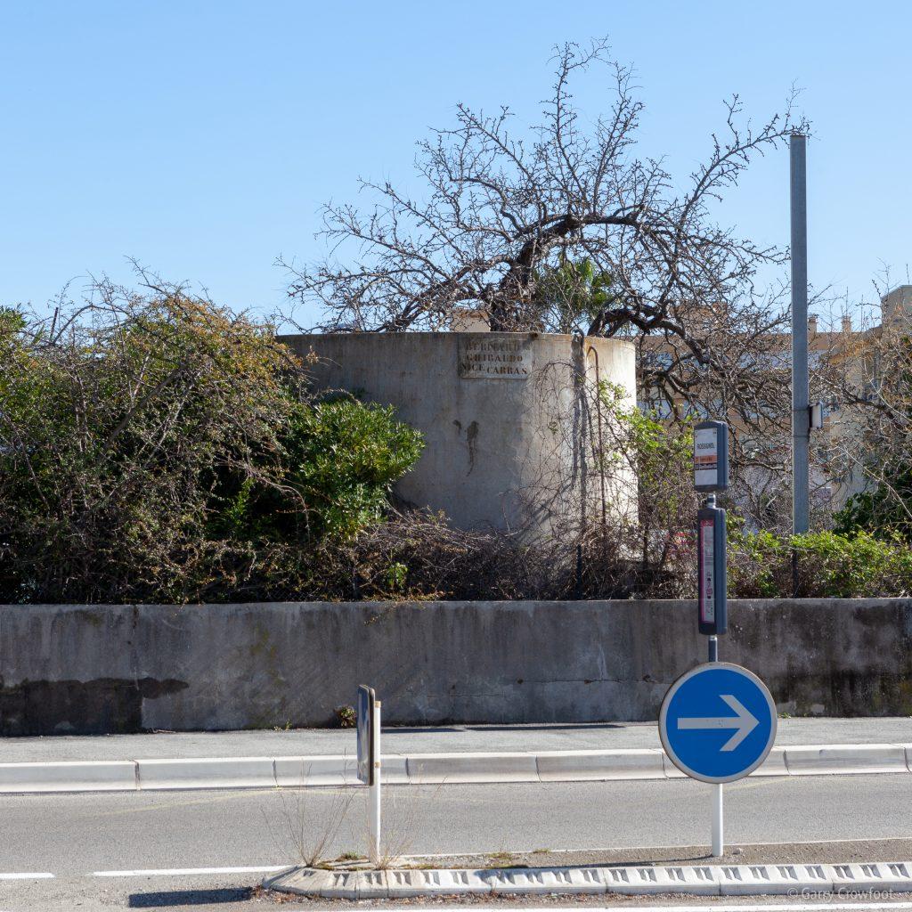 Citerne Ghibaudo Quatre Chemins Antibes