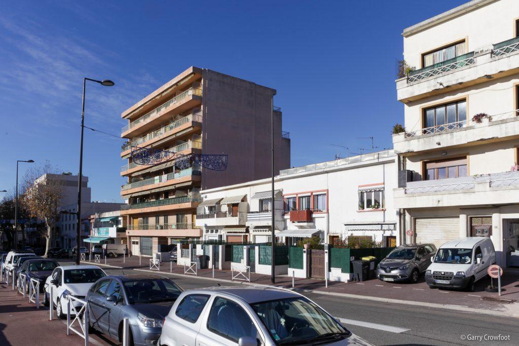 boulevard Poincaré Antibes Juan les Pins