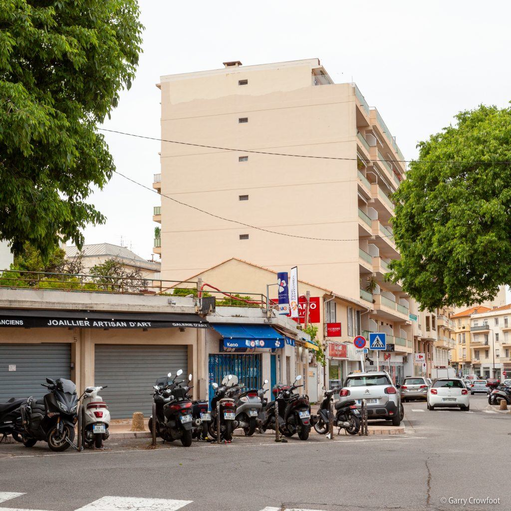 Avenue Pasteur Antibes