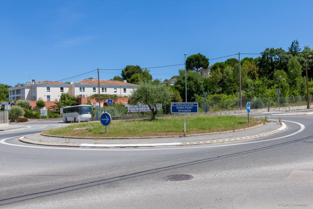 Rond-point Spagnon Antibes