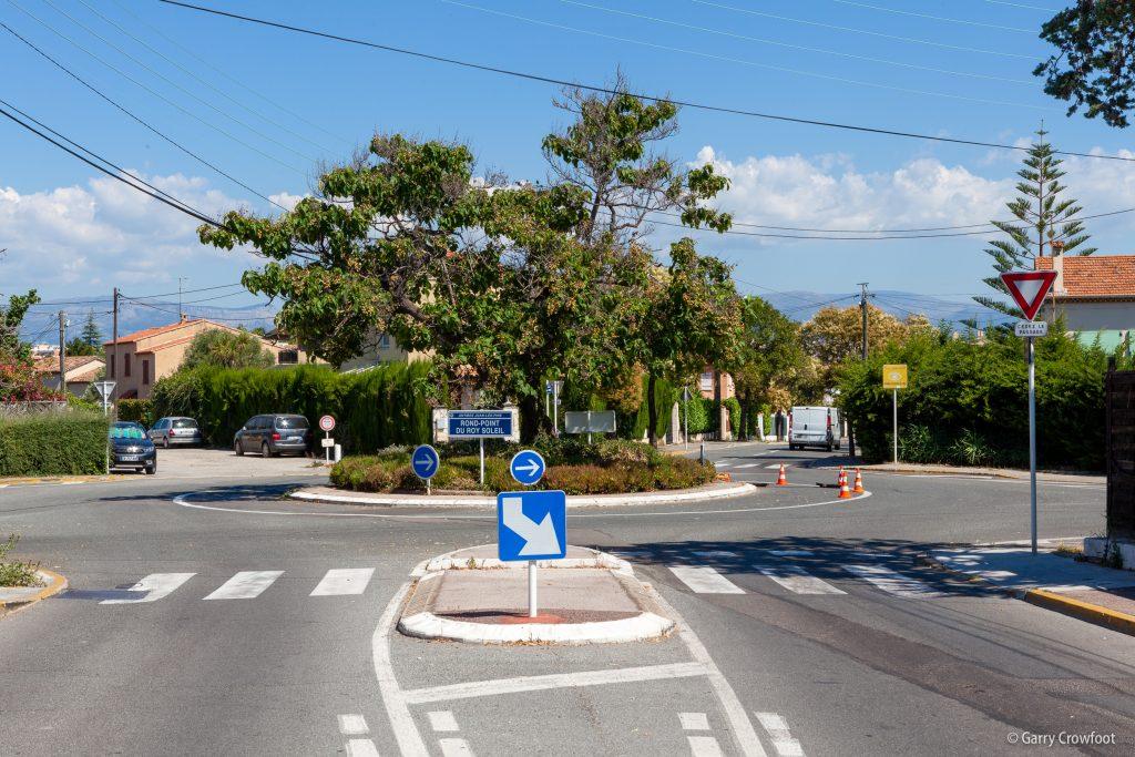 Rond point Roi Soleil Antibes
