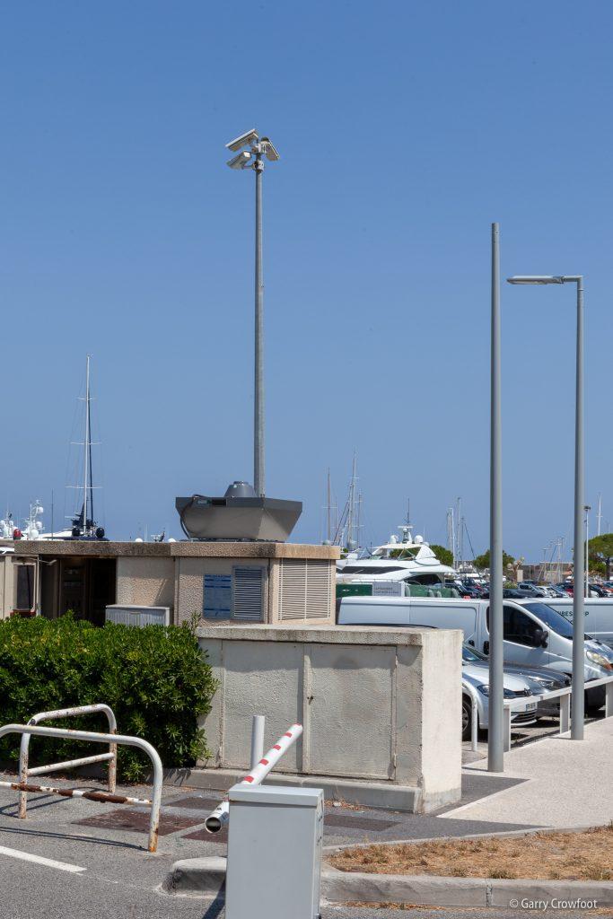 Caméra vidéosurveillance Antibes Port Vauban