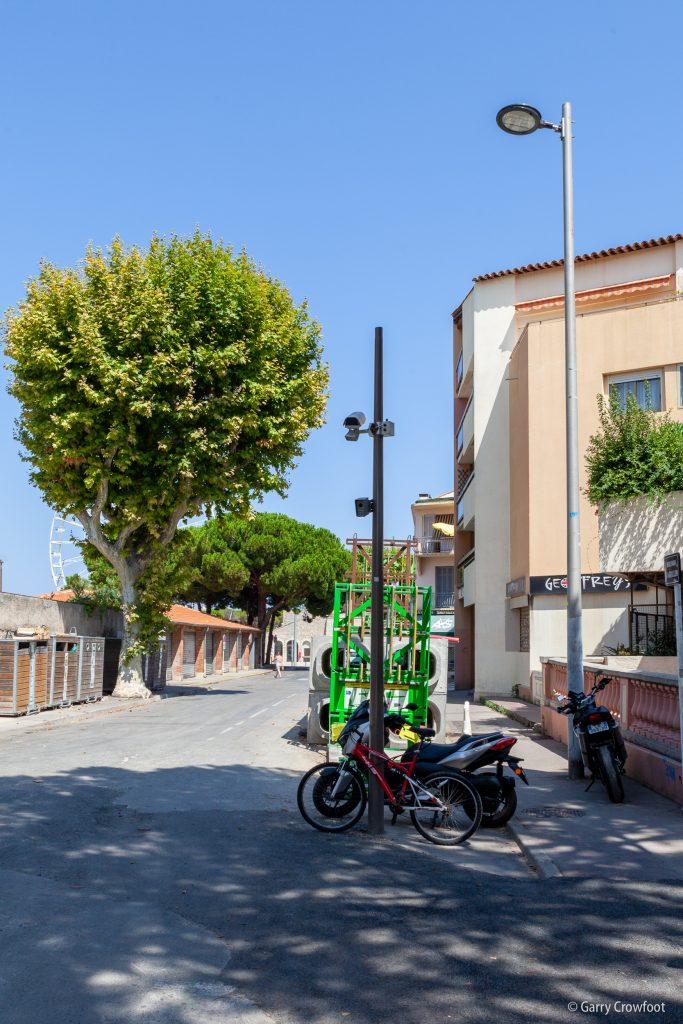 Caméra de vidéo surveillance Antibes Aguillon & Paul-Arène