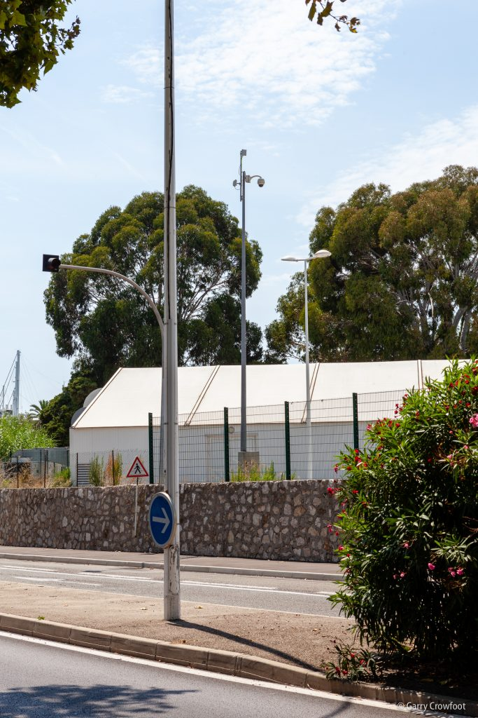 Caméra de vidéo surveillance Espaces Antibes