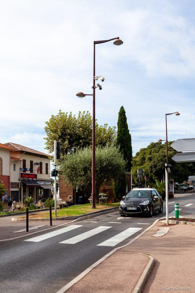 Caméra de vidéo surveillance Antibes Fontonne RN7