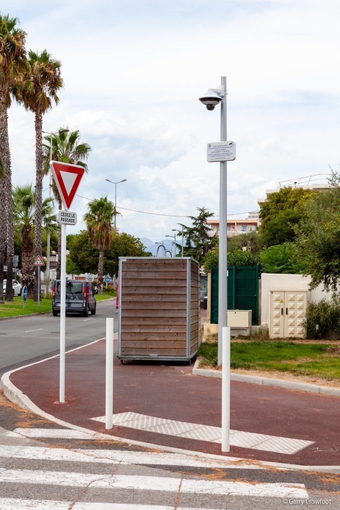 Caméra de vidéo surveillance Antibes Jules Grec
