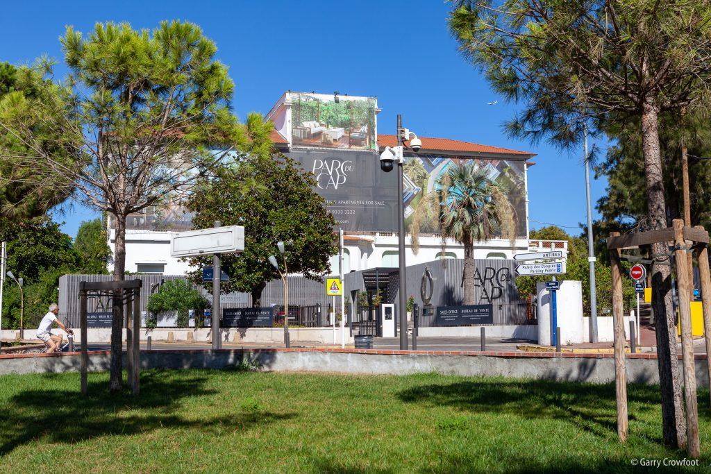 Camera video surveillance Juan les Pins Square Gould