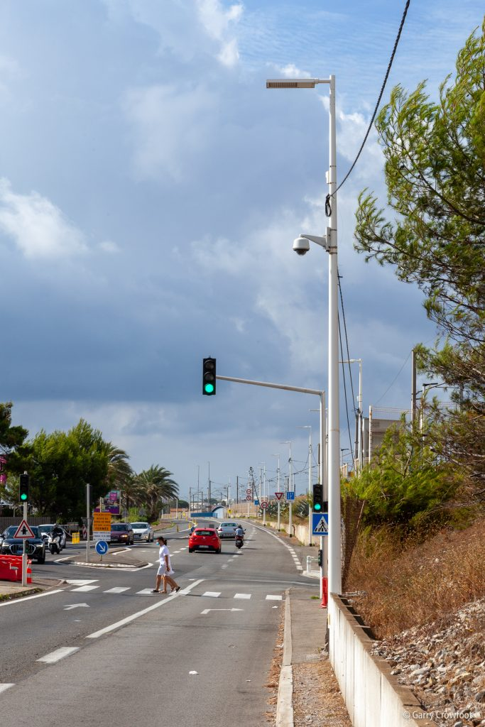 Camera video surveillance bord de mer Siesta