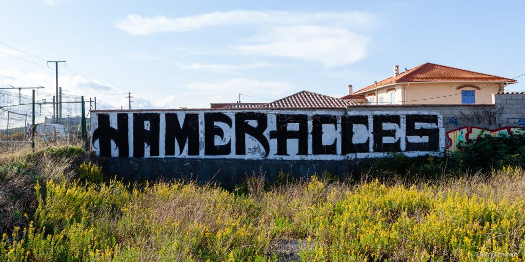 Graffiti Val Claret Antibes