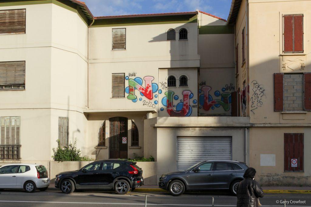 Graffiti Leclerc Antibes