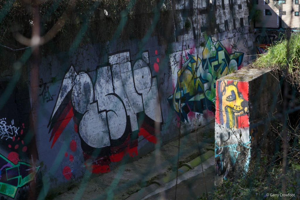 Graffiti Vallon Laval Antibes Philippe Rochat 2021