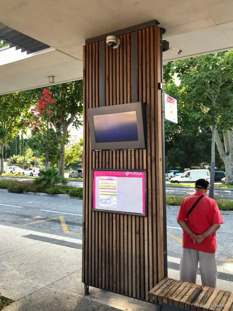 Camera Antibes gare routière