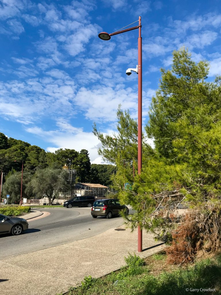Caméra video surveillance Eucalyptus Antibes