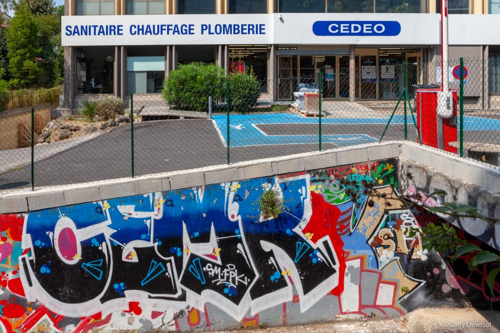 Graffiti tag Philippe Rochat Antibes 2021