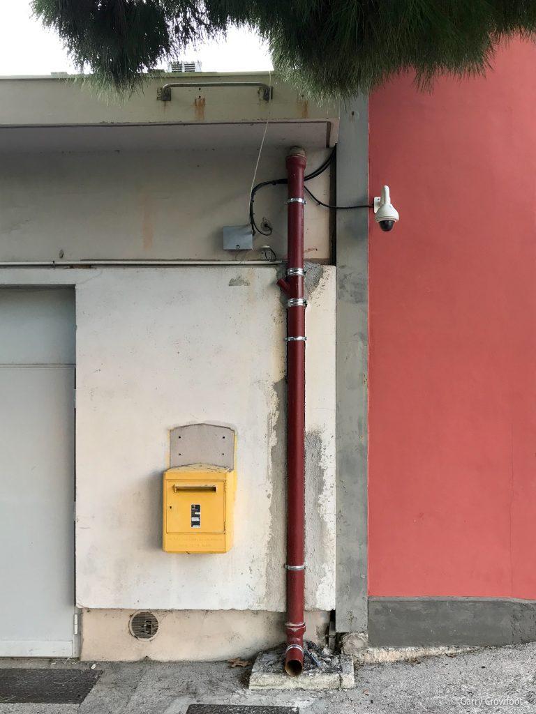 Gare Antibes caméra surveillance poste