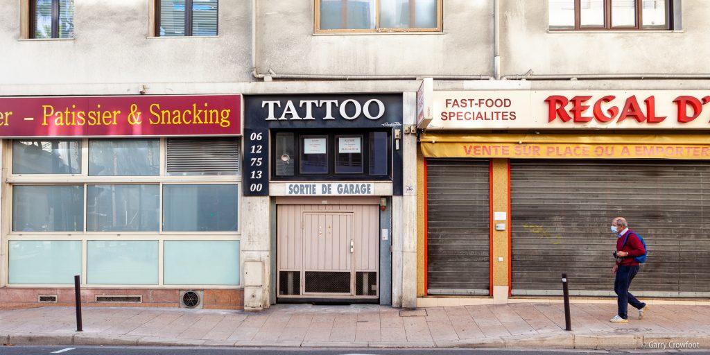 Tattoo boulevard Foch Antibes