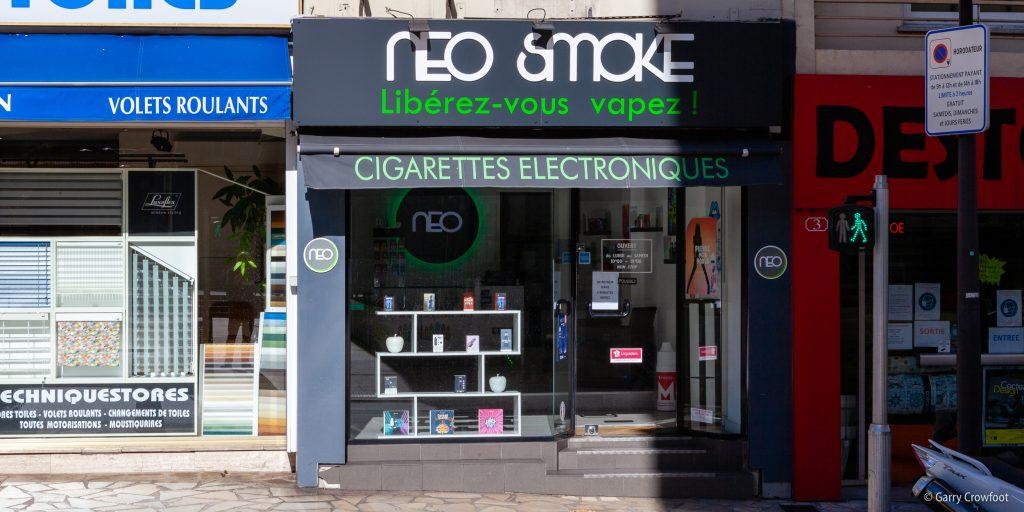 cigarette électronique bd Foch Antibes