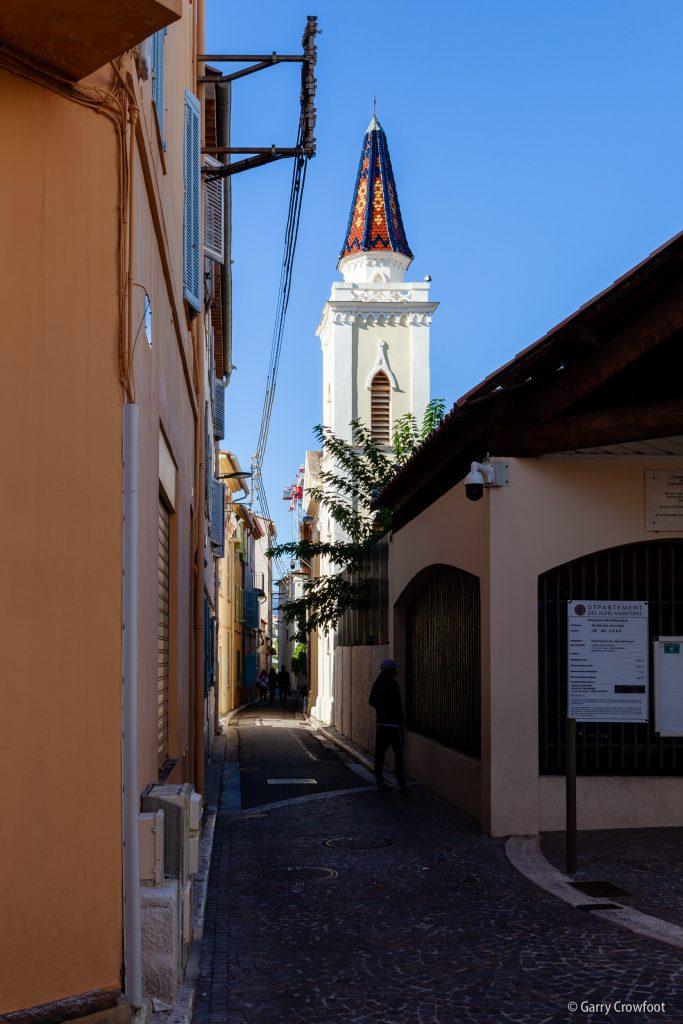 rue Arazy chapelle Antibes