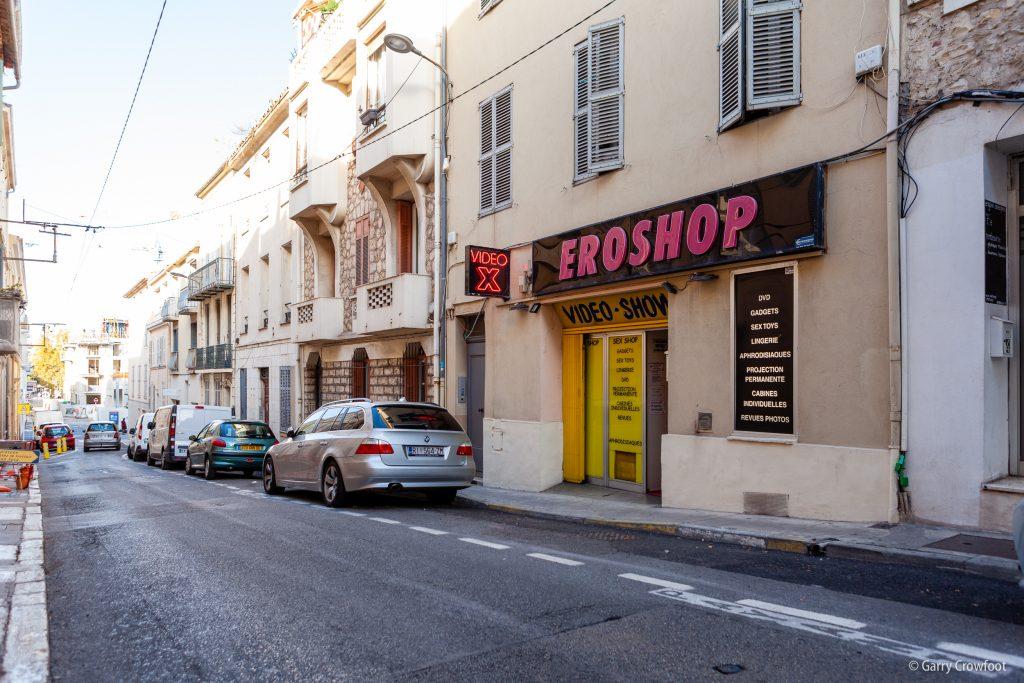 Sex Shop rue Vauban Antibes