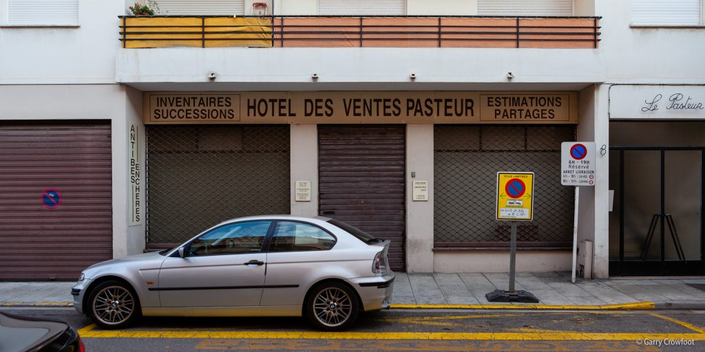 Hotel des Ventes avenue Pasteur Antibes