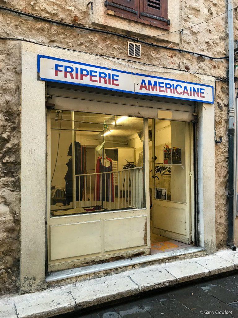 Friperie Américaine rue Thuret Antibes