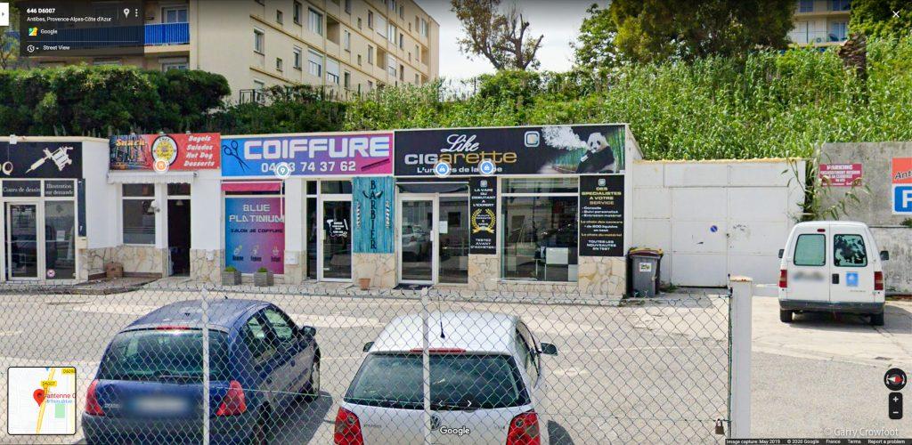 Like Cigarettes 633 avenue de Nice Antibes