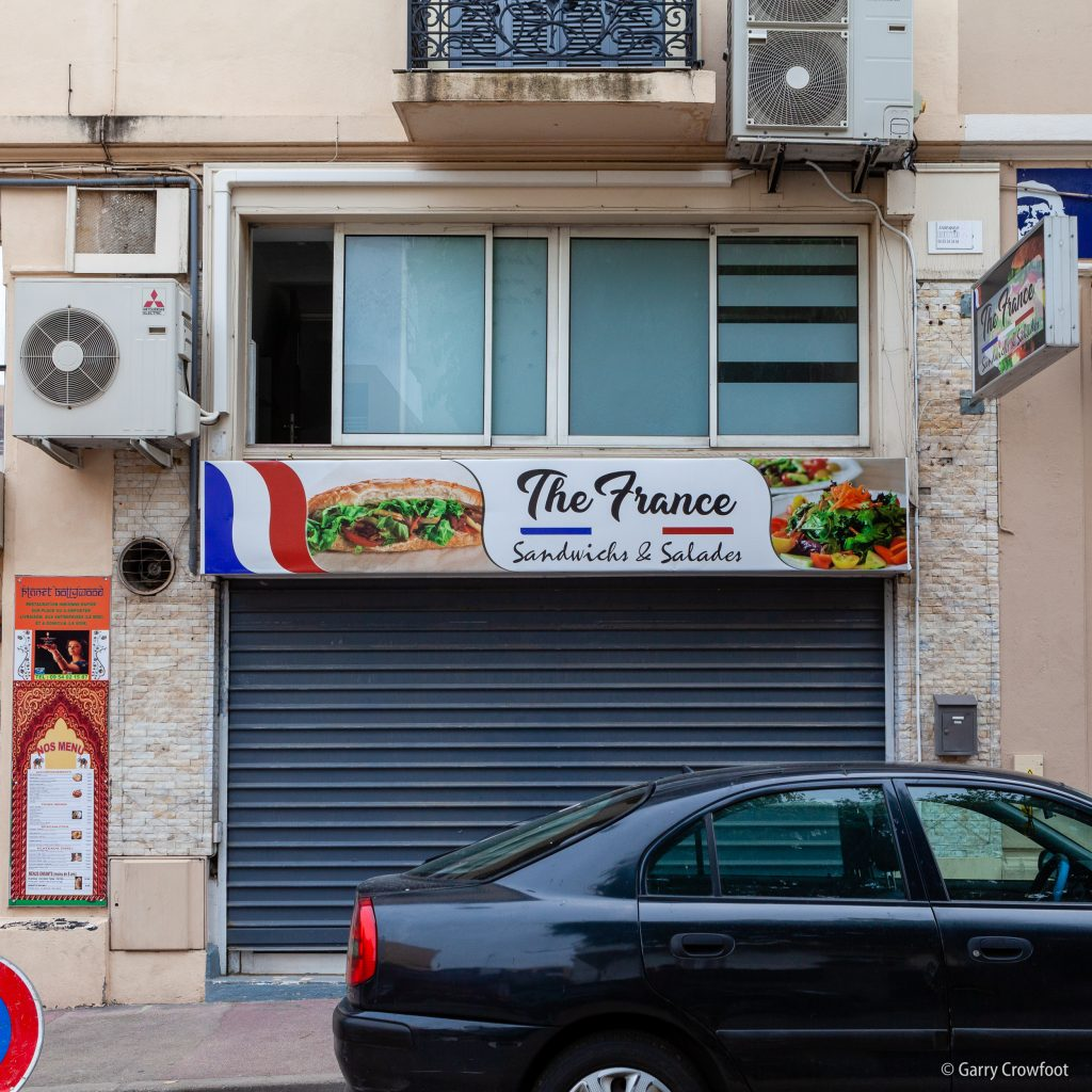 The France avenue Thiers Antibes