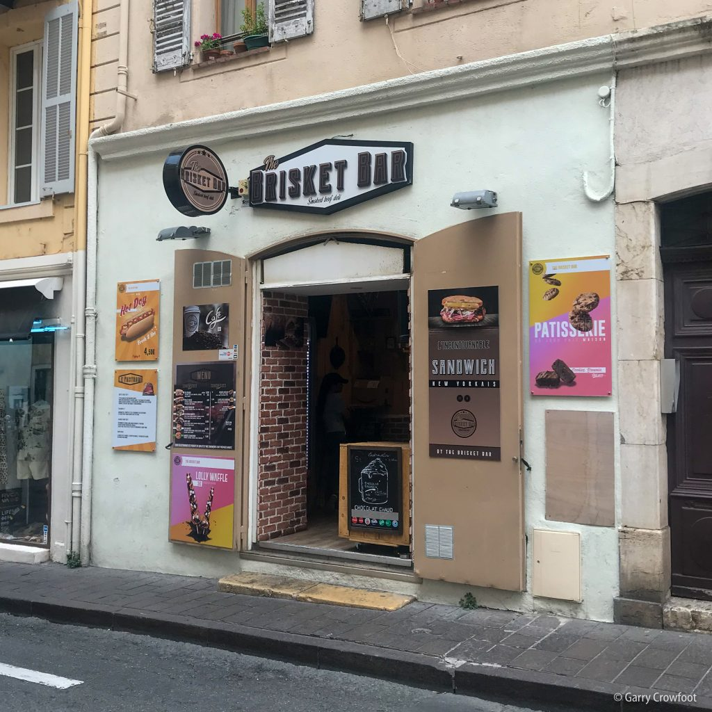 Brisket Bar Antibes rue Aubernon