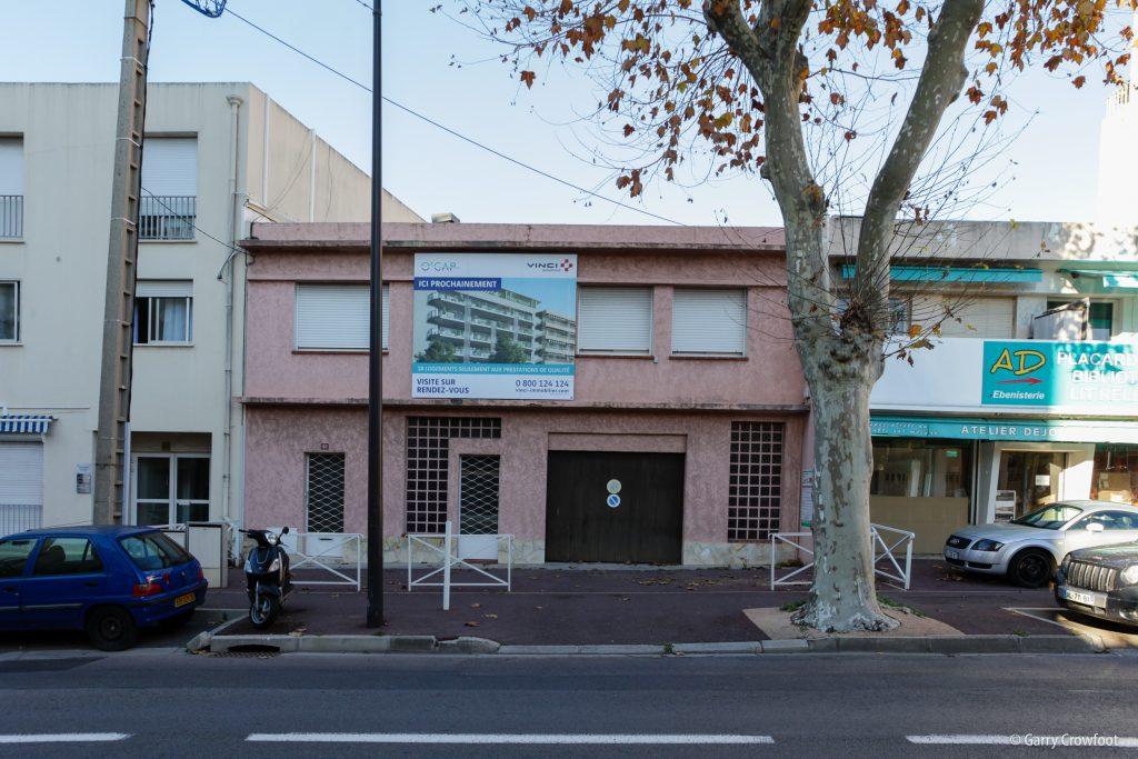 60-62 boulevard Poincaré Juan les Pins Villa Anina