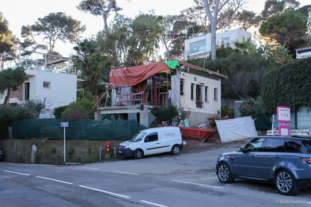 Cap d'Antibes renovation
