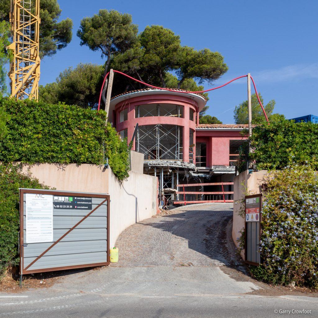 Cap d'Antibes Bacon Villa Darine 2021