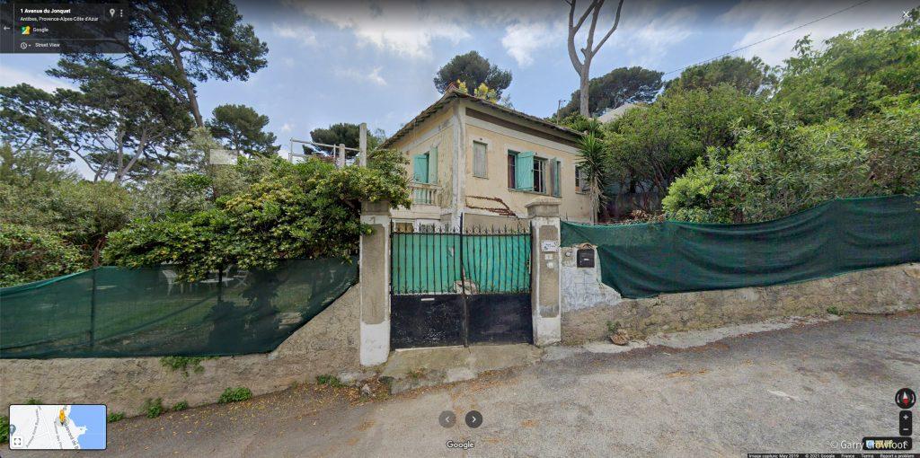 Google 1 av jonquet Cap Antibes