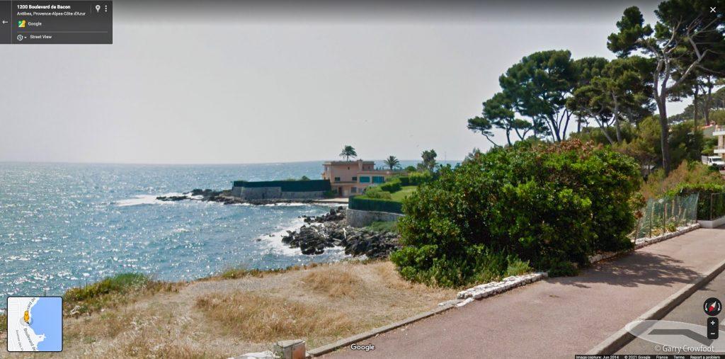 Google Villa Duby Boulevard Bacon Cap Antibes