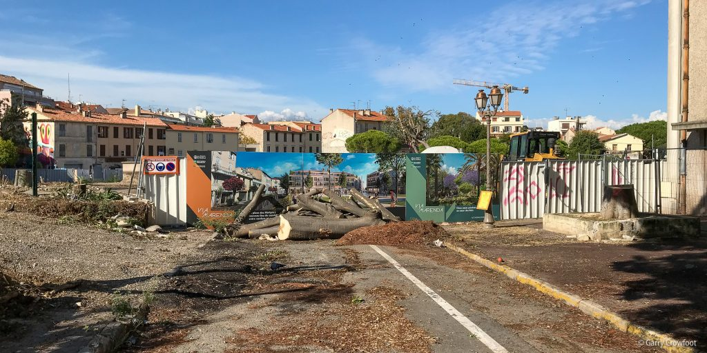 Place des Martyrs de la Résistance Antibes Marenda 2018