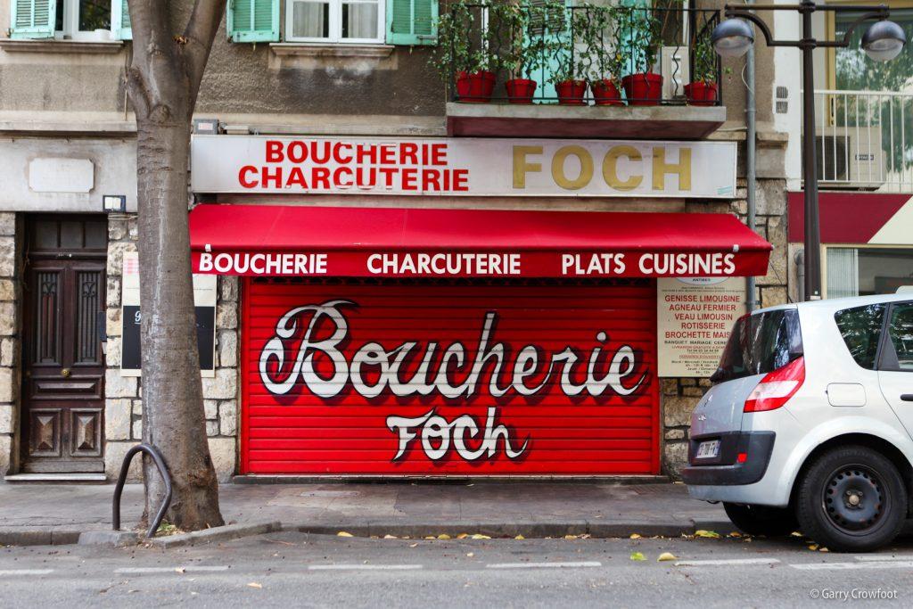 Boulevard Foch Antibes Shutter Art