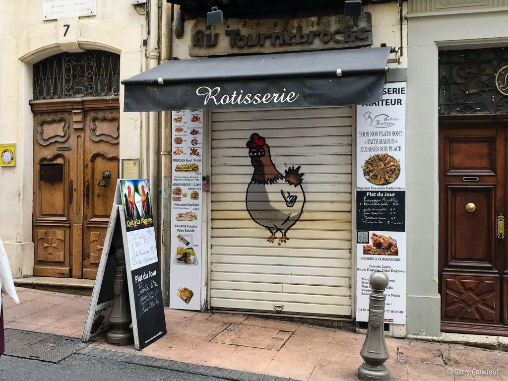 Rotisserie rue République Antibes 2021
