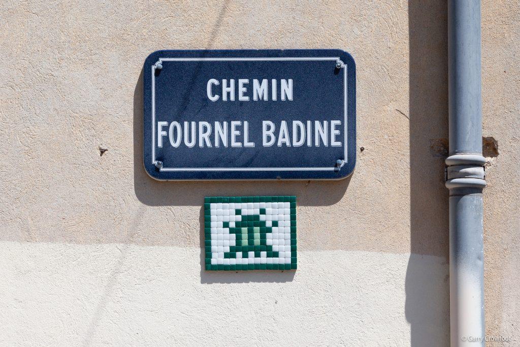 Space Invaders Fournel Badine Antibes 2021