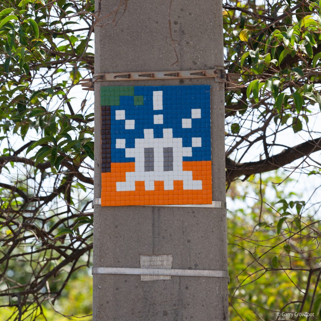 Space Invader Benoit Carriat Antibes