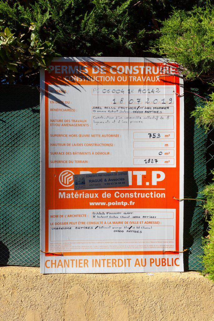 650 Pierre Delmas Antibes 2021 permis construire