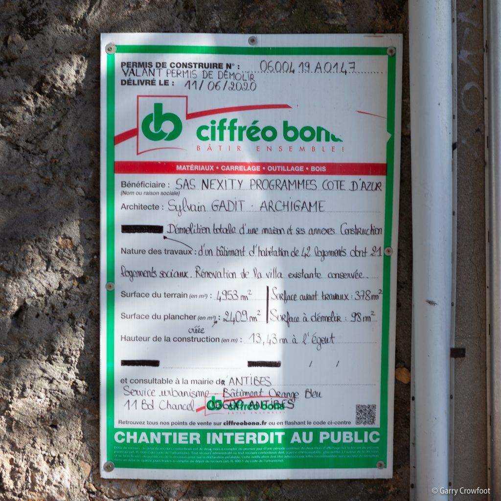 37-39 Badine Antibes 2021 permis