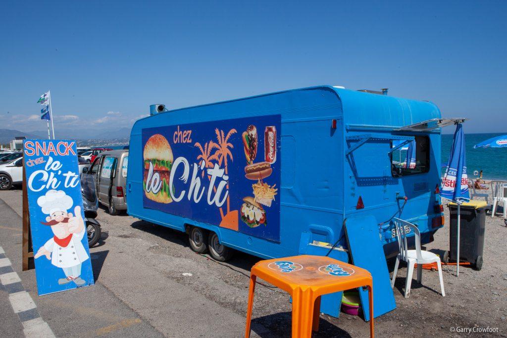 Le Ch'Ti Camion de plage Antibes 2021