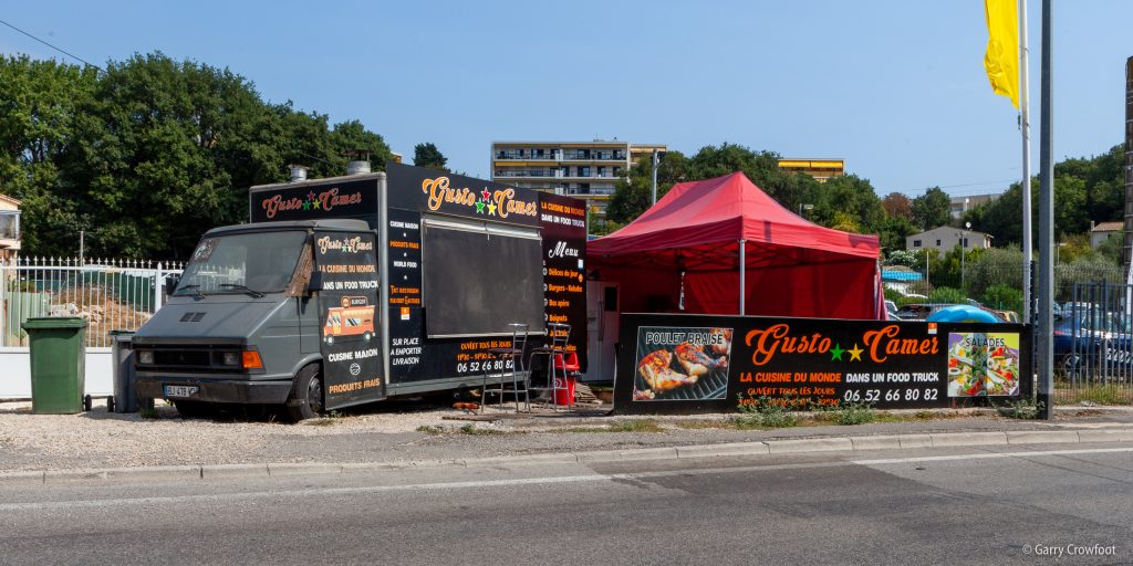 Camion food truck Philippe Rochat Antibes